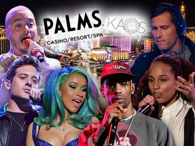 Travis Scott, Cardi B Headline New Palms Club KAOS
