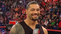 Roman Reigns Announces Leukemia in Remission on Monday Night 'Raw'
