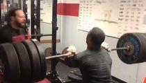 Nick Chubb Crushes 410-Pound Lift: Your Move, Kareem Hunt!