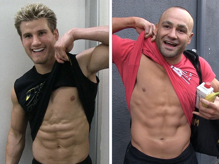 Sage Northcutt and Eddie Alvarez Love Each Other's Abs and So Do We