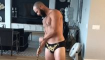 Jake Arrieta Has Mankini Strip Show To Celebrate Bryce Harper Signing