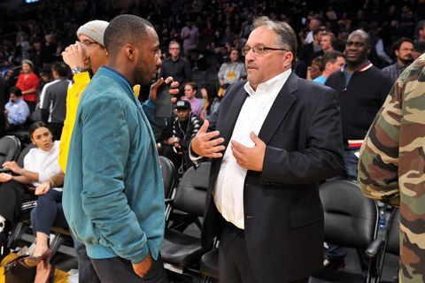 Rich Paul and Stan Van Gundy