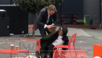 S.F. Giants CEO Larry Baer In Physical Altercation with Wife on Video