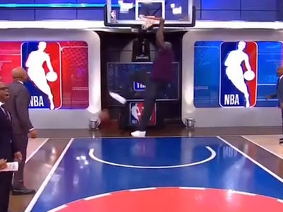 Shaq Dunking at 46 Years Old? BOOM!