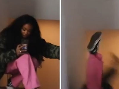 SZA Falls Hard Down Some Stairs, But She's Okay