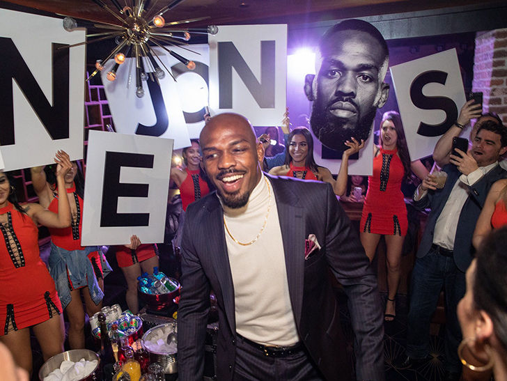 Jon Jones Follows Easy UFC 235 Victory with Hard Partying in Las Vegas