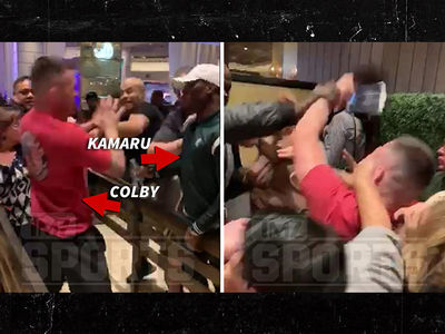 Kamaru Usman & Colby Covington Get Into Scuffle Day After UFC 235
