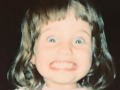 Guess Who This Cheesin' Chick Turned Into!