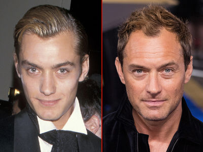 Jude Law -- Good Genes or Good Docs?!