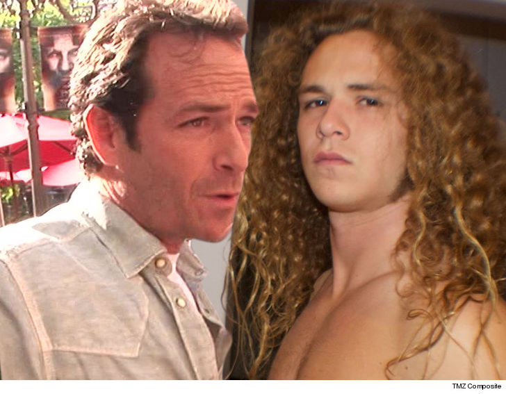 Jack Perry Sophie Perry: Luke Perry's Son Jack 'Jungle Boy' Perry Pulls Out Of