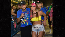 Neymar Hits Carnival With Smokin' Hot Brazilian Singer Anitta