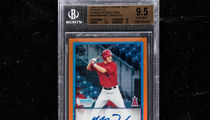 Mike Trout Signed Rookie Card Fetches $186,000 at Auction