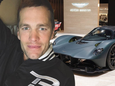Tom Brady Goes Crazy Over New Aston Martin, I Need A Bigger Garage!