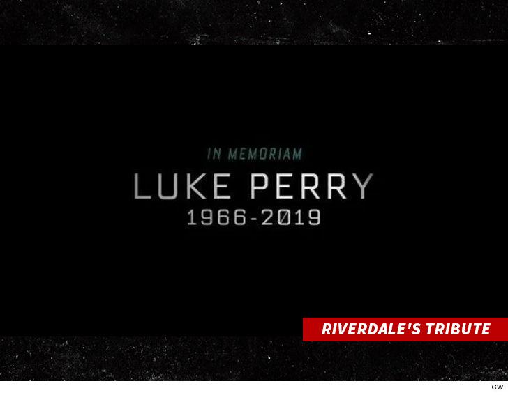 Jason Priestley's Touching Tribute to Luke Perry - TMZ