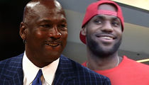 Michael Jordan Congratulates LeBron for Passing Him On All-Time Scoring