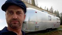Gerard Butler's Airstream Stolen During Restoration Effort