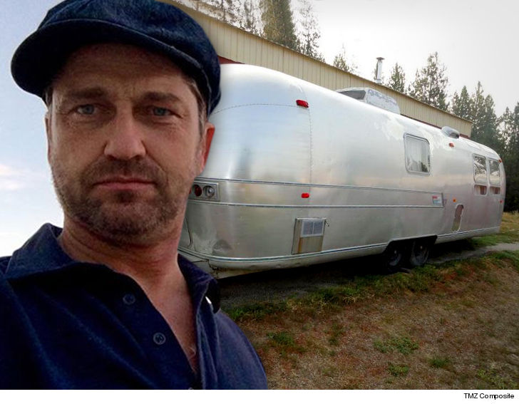 Gerard Butler Someone Stole My Airstream!!! Before I Could Pimp My Ride