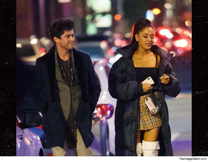 Ariana Grande Catching Up w/ a Blast from the Past