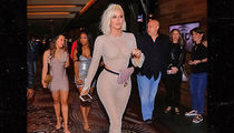 Khloe Kardashian Rocks a Fishnet Outfit for Malika's Birthday