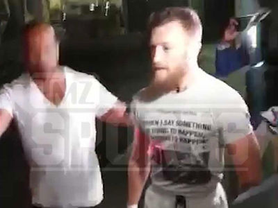 Conor McGregor Bails Out After Arrest for Robbery, Smashing Fan's Phone
