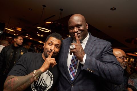 Deon Cole and Shaquille O'Neal