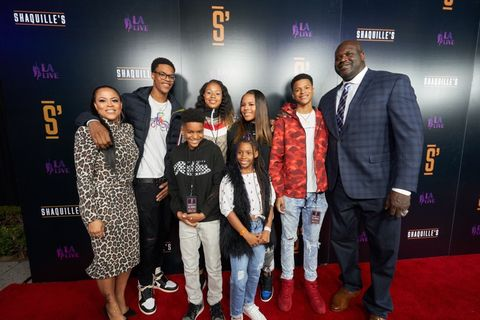 Shaquille O'Neal and Family