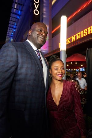 Stars Attend Shaquille's Opening at L.A. Live