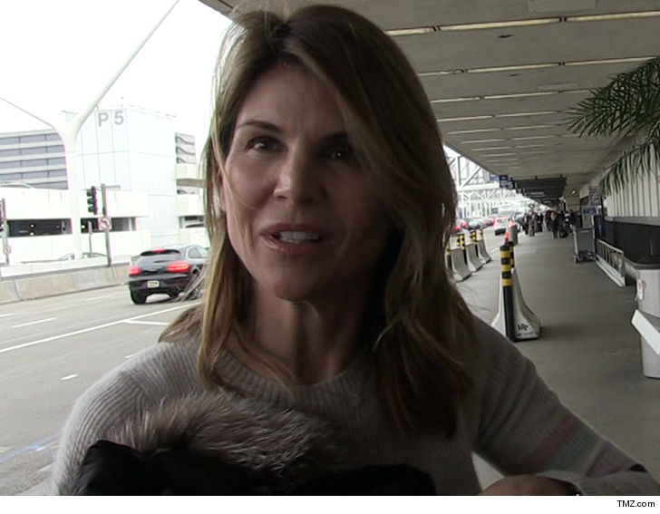 Lori Loughlin Surrenders To FBI in College Admissions Bribery Case