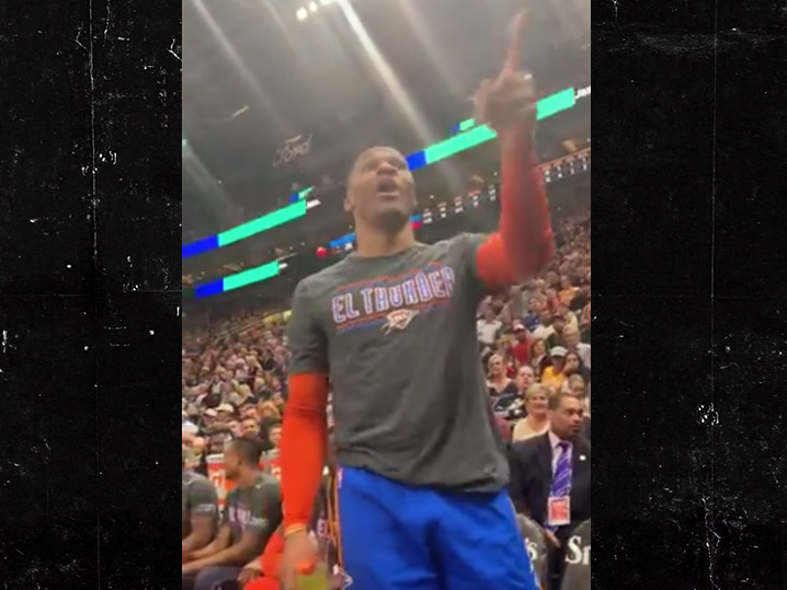 613706f50e6a Fan Russell Westbrook Threatened Banned From Jazz Games For Verbal Abuse