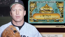 Mickey Mantle's Signed Trump Casino Gambling Cards Hit Auction Block