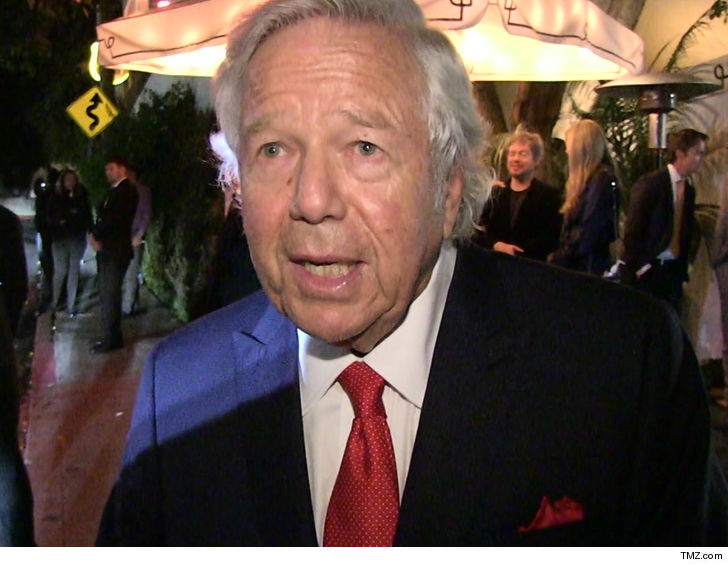 Robert Kraft No Human Trafficking Charges For Anyone Nailed in Sting