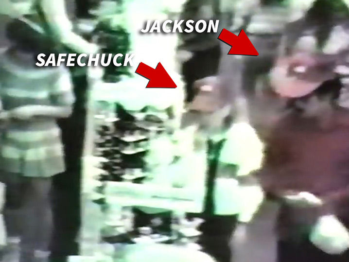 Michael Jackson on Security Cam Buying Jewelry for James Safechuck in 1989