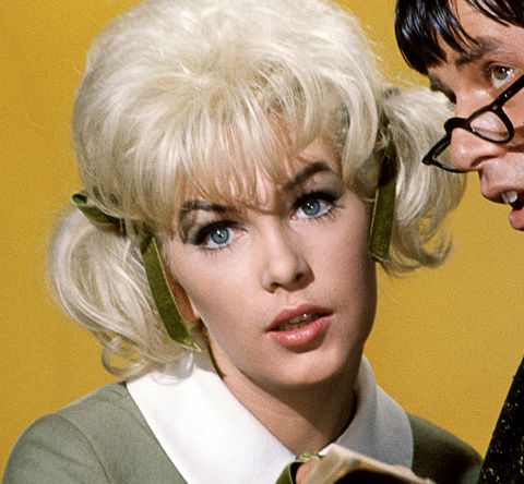 """Stella Stevens is best-known for playing the super sexy student, Stella Purdy -- opposite Jerry Lewis as Professor Kelp and Buddy Love -- in the classic 1963 comedy, """"The Nutty Professor."""""""