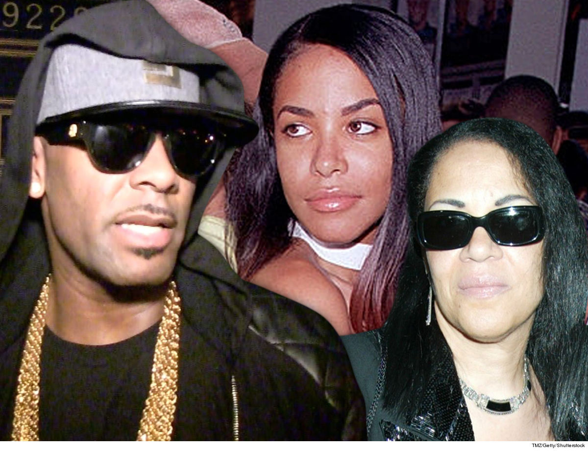 R. Kelly I Never Had Sex with Aaliyah's Mom ... Stop Smearing My Name!!!