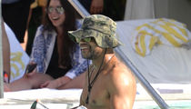 Cuba Gooding Jr. Partying at a Spring Break Pool Party in Miami Beach