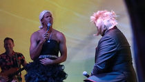 Shane Battier Gives Majestic Rendition of 'Shallow,' with Dress and Wig!