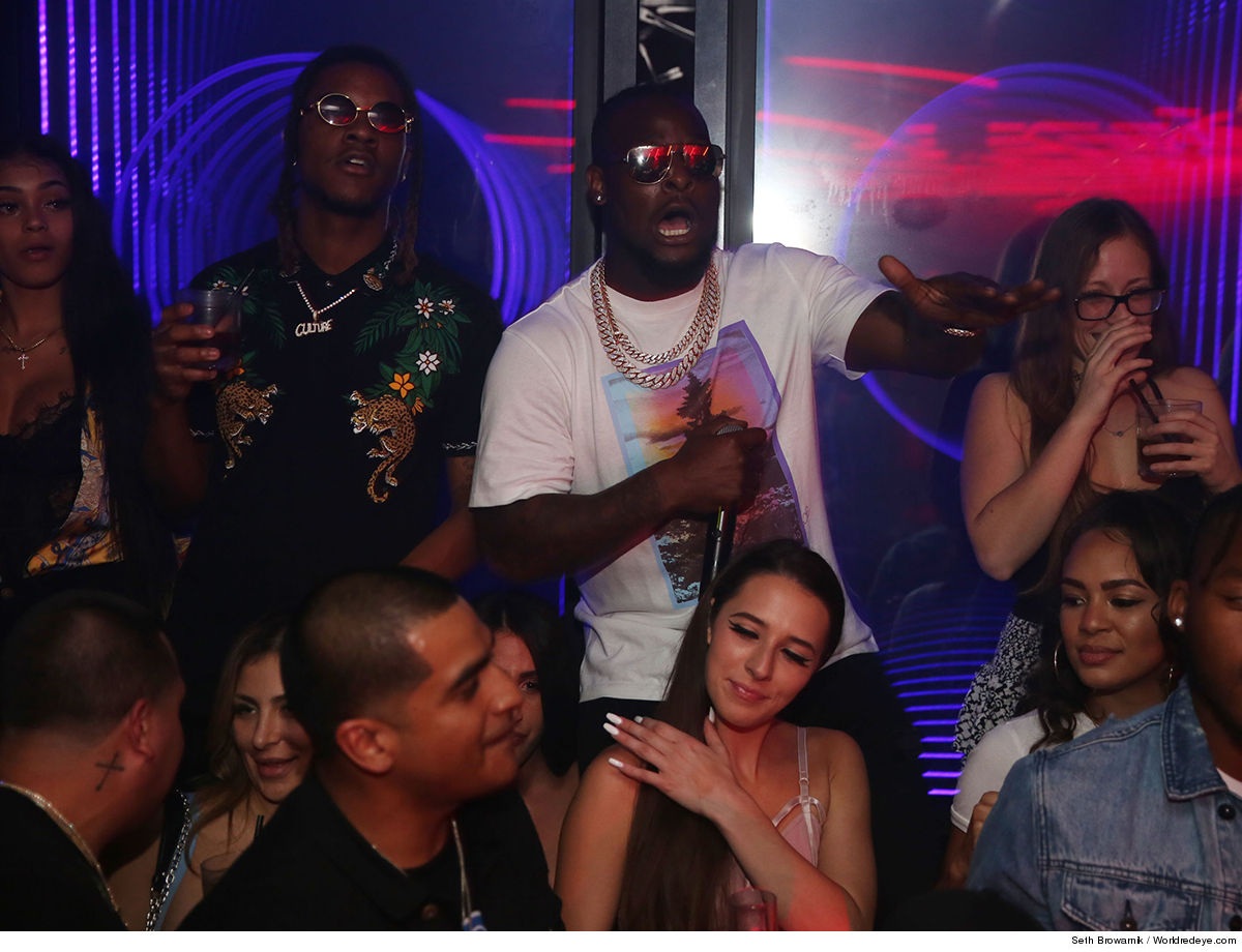Le'Veon Bell Huge Album Release party ... After New Jets Contract!!!