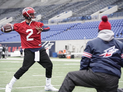 Johnny Manziel Hits Practice Field With New AAF Team