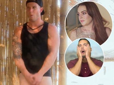 'Lohan Beach Club' Recap: Lindsay FIRES Employee After He Strips, Puts Bread WHERE?!