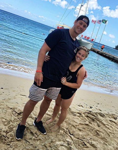 Shawn Johnson and Andrew East in Florida
