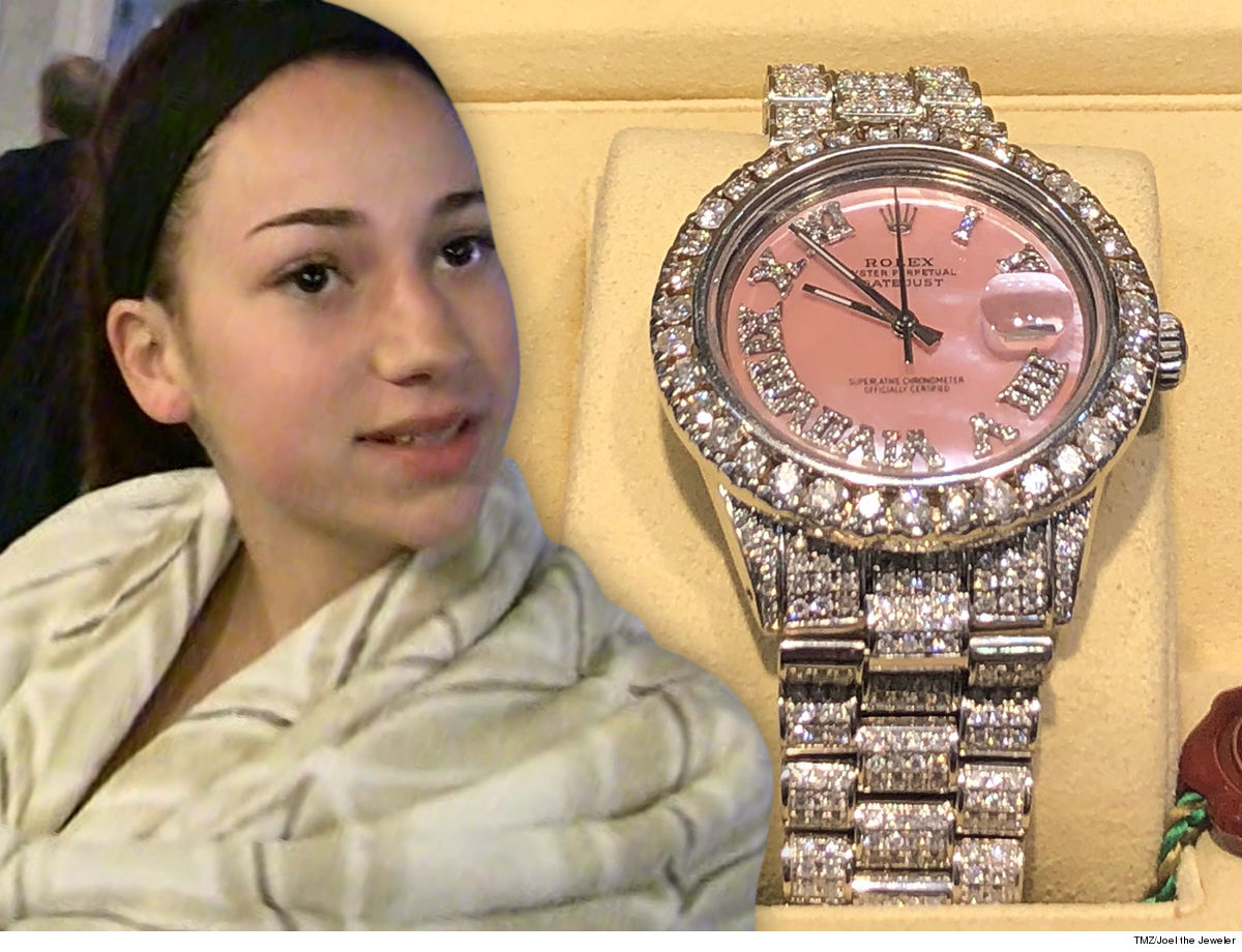 Danielle Bregoli Happy 16th Bday, Kid ... Here's Your First Rolex!!!