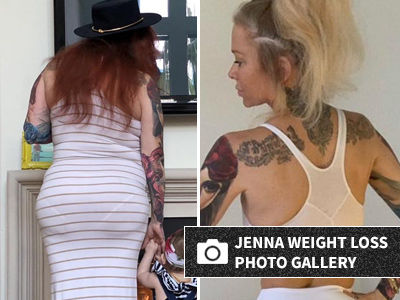 Jenna Jameson Shares Before & After Photos of Her Booty Following INSANE Weight Loss