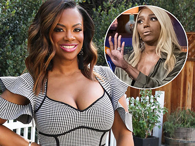 Kandi Burruss Says THIS Is the Reason NeNe's FEUDING with 'RHOA' Cast (Exclusive)