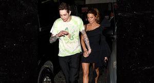 Pete Davidson & Kate Beckinsale Make Out After Motley Crue Show