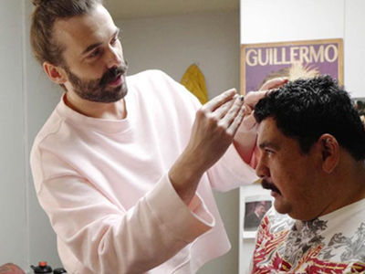 'Queer Eye' Guys Give Kimmel's Sidekick a FULL Makeover -- See the Transformation!