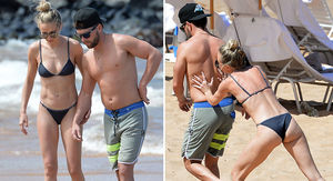 Lauren Bushnell Shows off Bikini Bod with Country Star BF Chris Lane