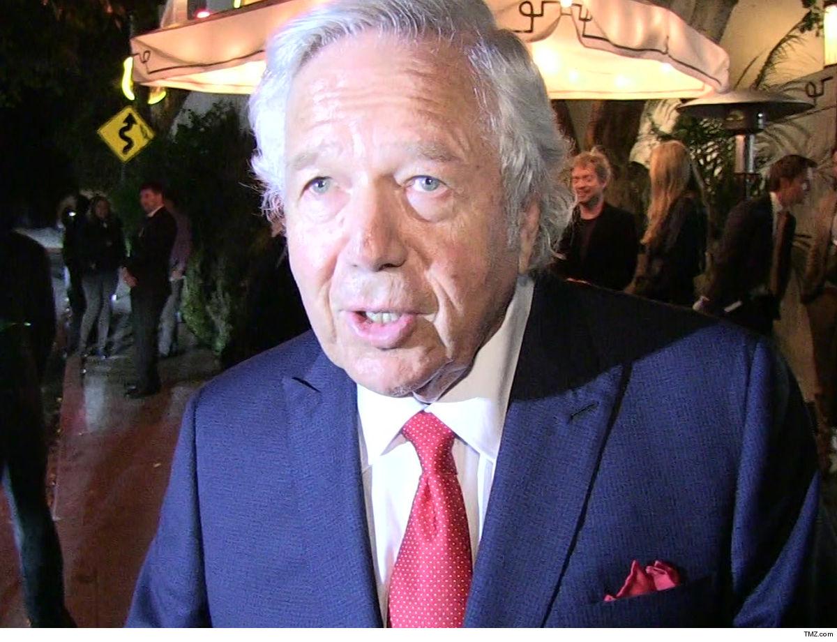Robert Kraft Offered Plea Deal In Prostitution Case ... Includes STD Testing