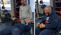 James Harrison Bench Presses 500 Pounds, 'Got Your B*tch Ass!'