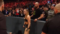 Ronda Rousey's Husband Travis Browne Fights Off Security at 'WWE Raw'