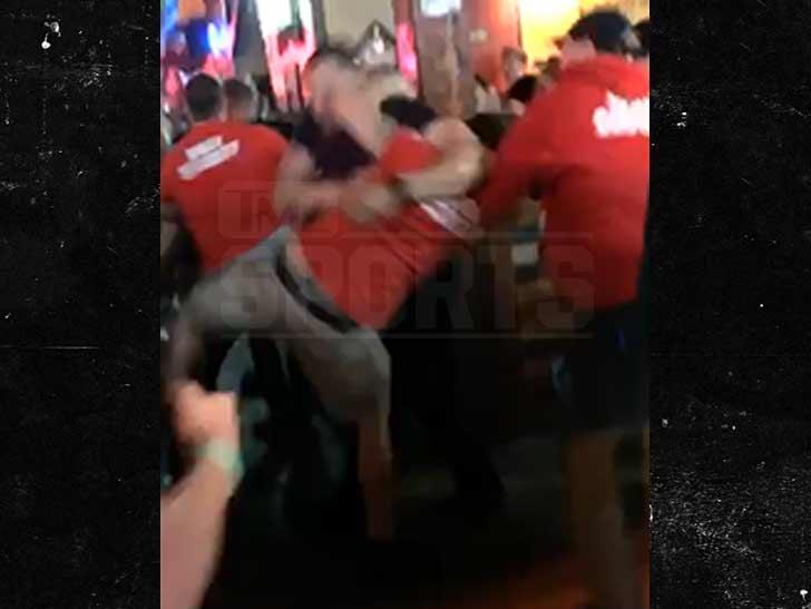 Tyrone Crawford Bar Brawl Video Shows Cowboys Star Wrecking Bouncers ... 60c2fdb17